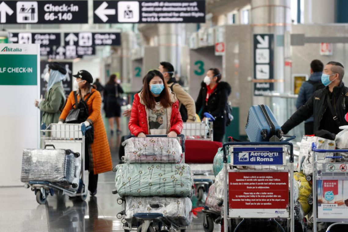 Coronavirus: Rome to shut Ciampino airport, close terminal at Fiumicino