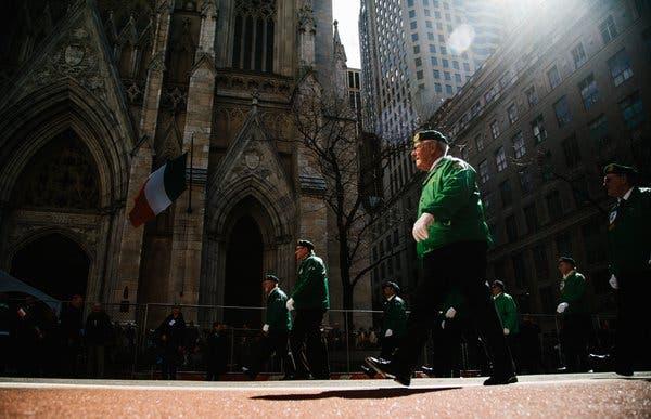Coronavirus in N.Y.: St. Patrick's Day Parade Is Postponed