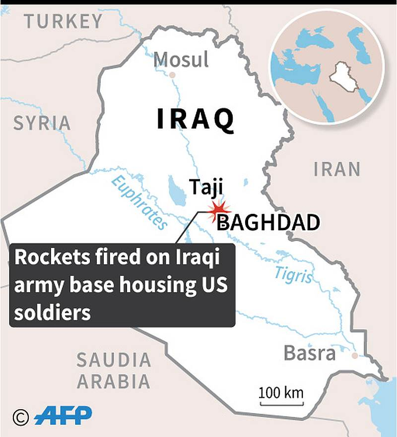 Two US, one British personnel killed in Iraq rocket attack, say officials