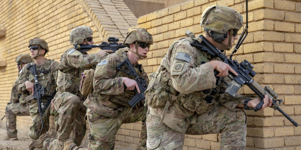 A rocket attack on a coalition base in Iraq killed 2 US troops and injured a dozen other people