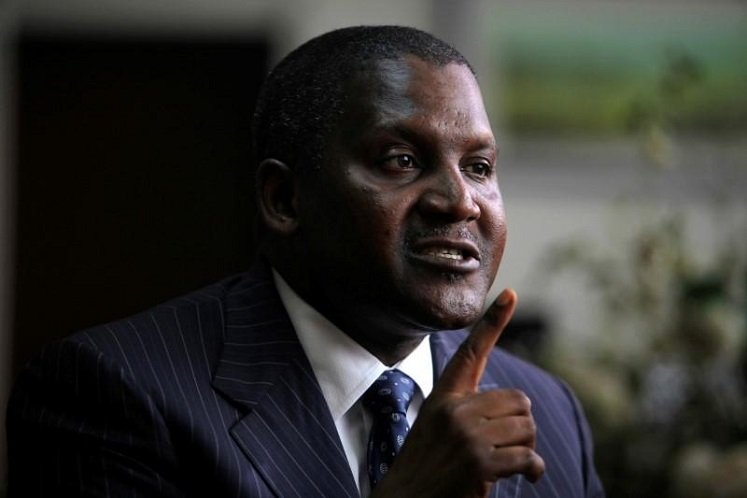 Africa's richest man to add oil to expanding business empire