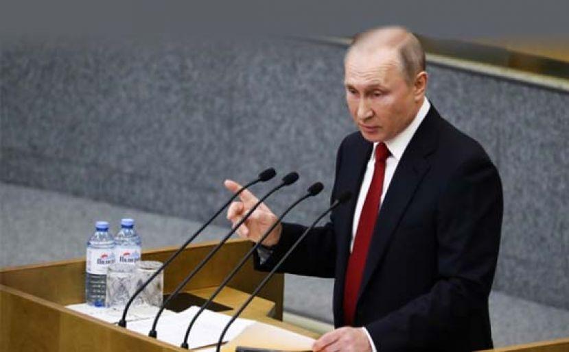 俄通过修宪法案为普京再连任铺路 民调:45%人望他留任