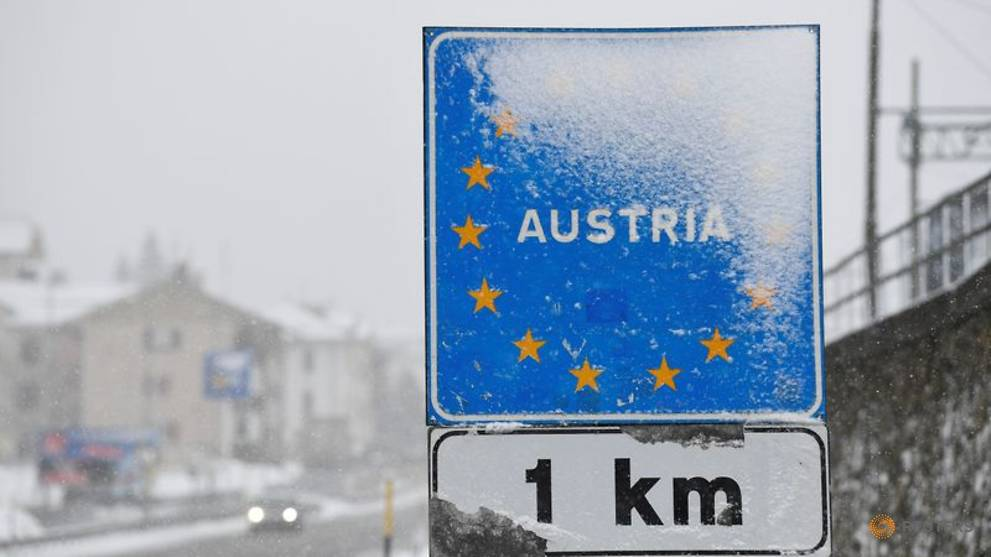 Austrian borders with Czech Republic, Slovakia and Hungary to reopen Jun 15
