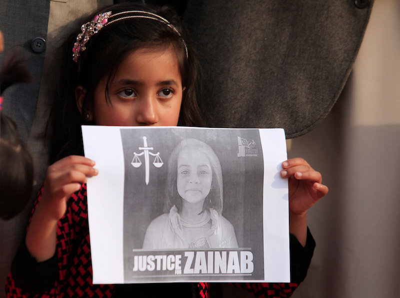 Pakistan passes child abuse law after girl's rape and murder