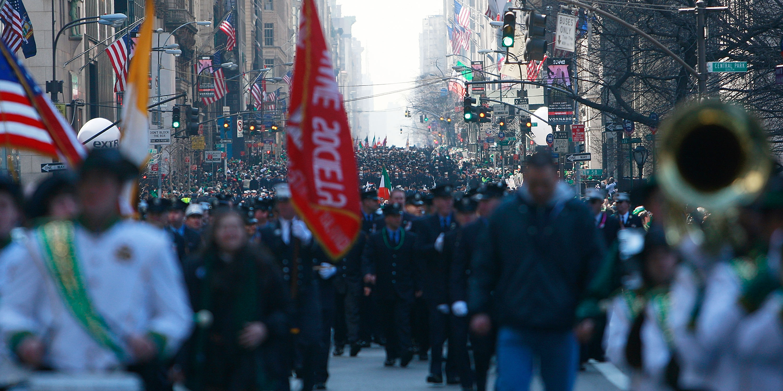 New York postpones St. Patrick's Day parade amid coronavirus pandemic