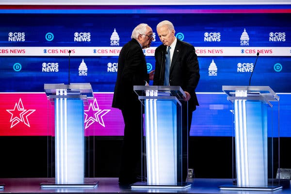 Democrats Move Debate From Arizona to Washington Because of Virus Concerns