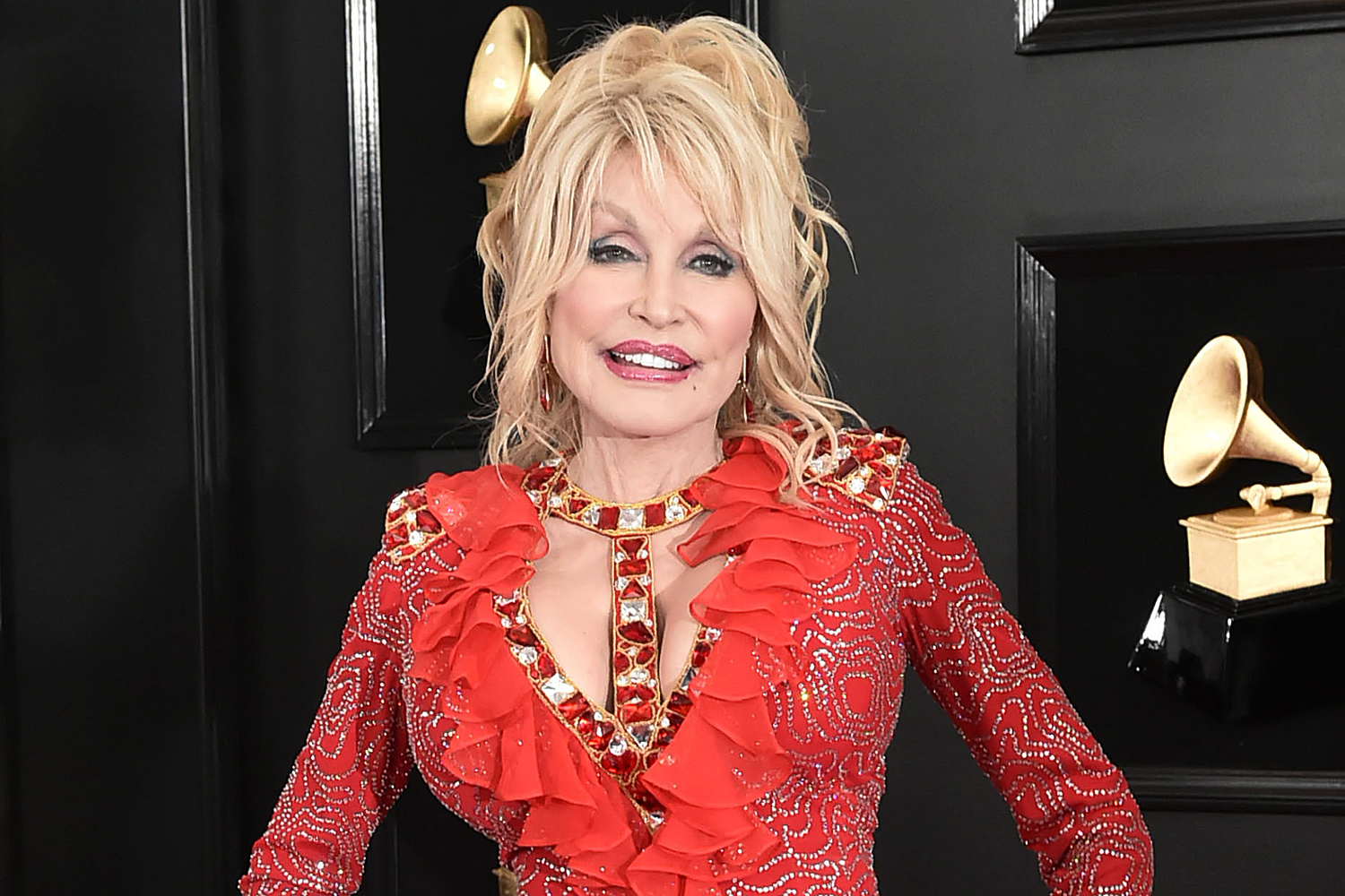 Dolly Parton wants to pose again for Playboy for 75th birthday: 'Boobs are still the same'