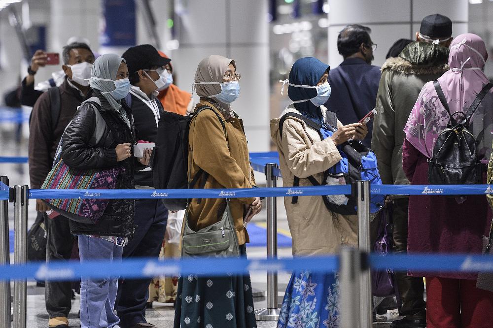 More Malaysians return home via North Sumatra airport