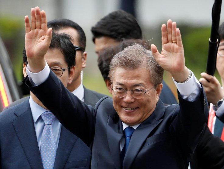 South Korea's coronavirus battle propels Moon's party to election win