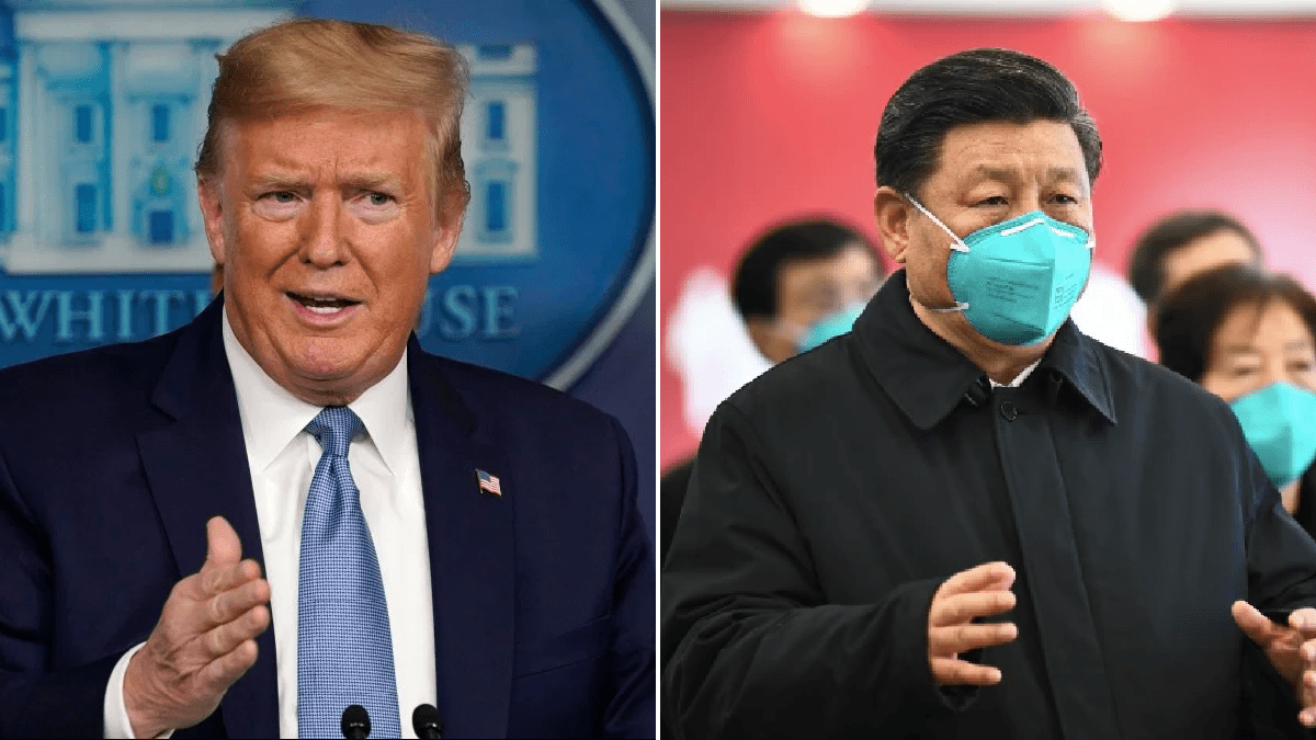 Donald Trump 'slashes WHO funding by 90% and says US will only pay as much as China'