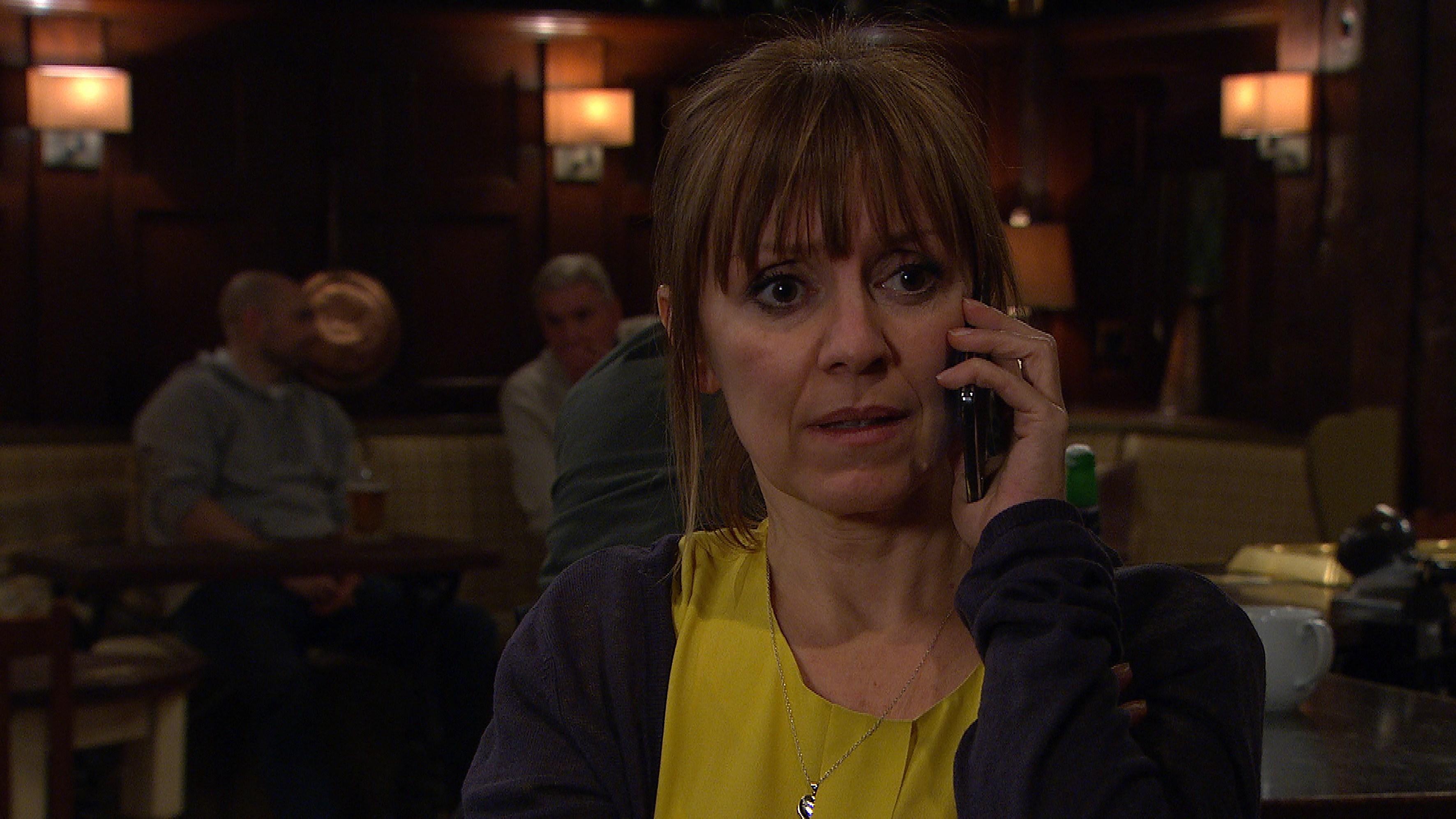 Emmerdale spoilers: Rhona Goskirk gets shocking news about Pierce Harris tonight