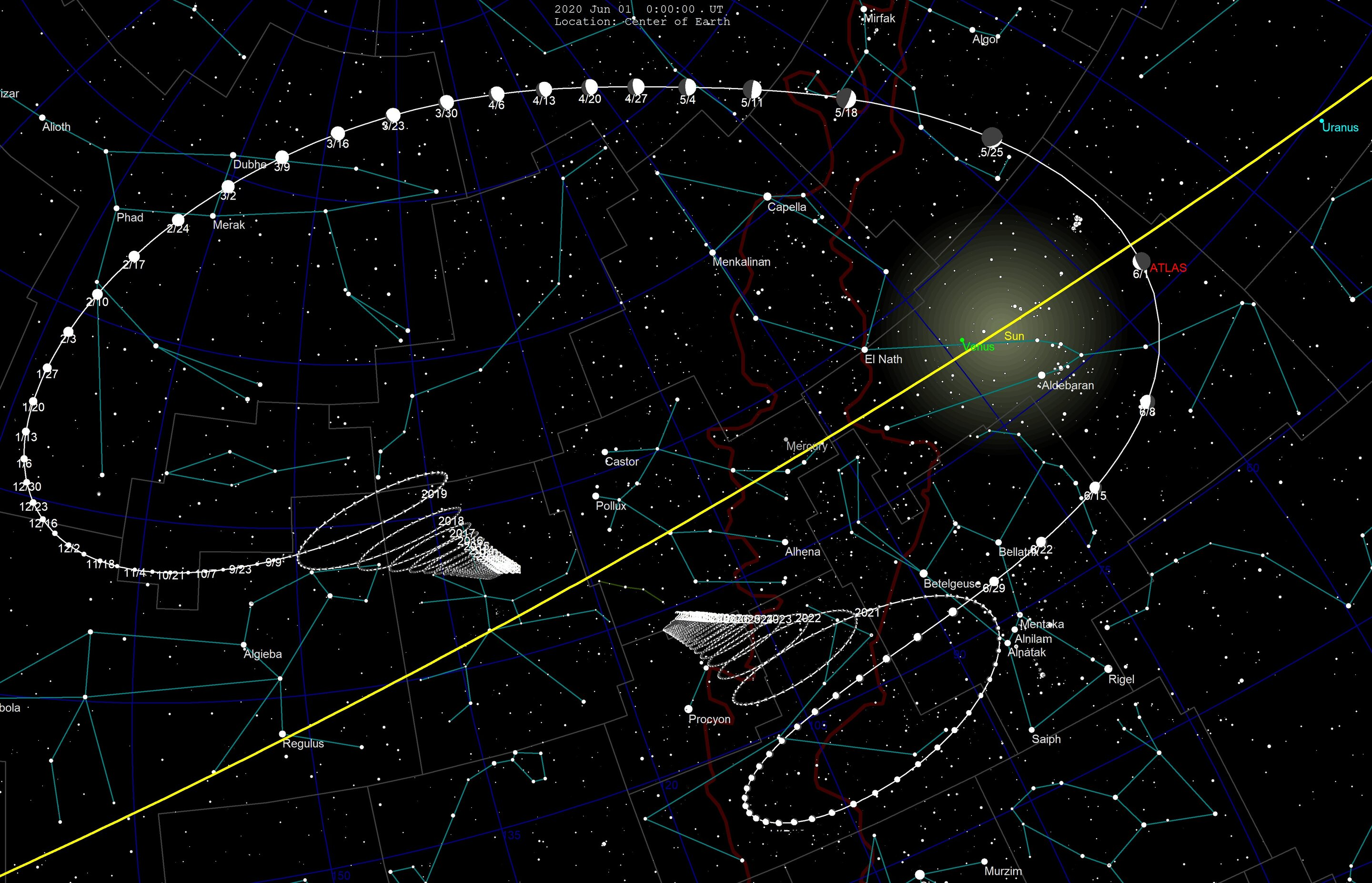 Comet ATLAS may put on quite a show