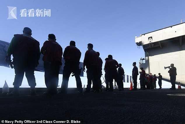 """8名水兵确诊 美国""""罗斯福""""号航母仍不撤离南海"""