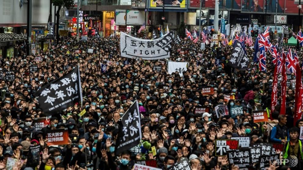 Hong Kong politican arrested for 'sedition' over Facebook post
