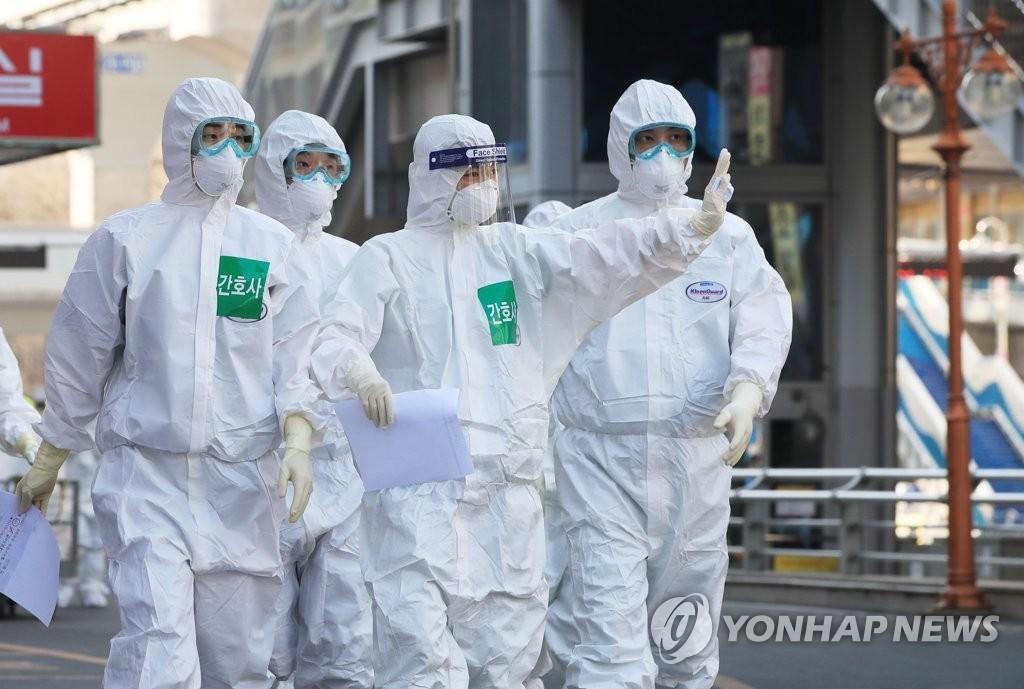 韩国新增104例新冠肺炎确诊病例 累计确诊9241例