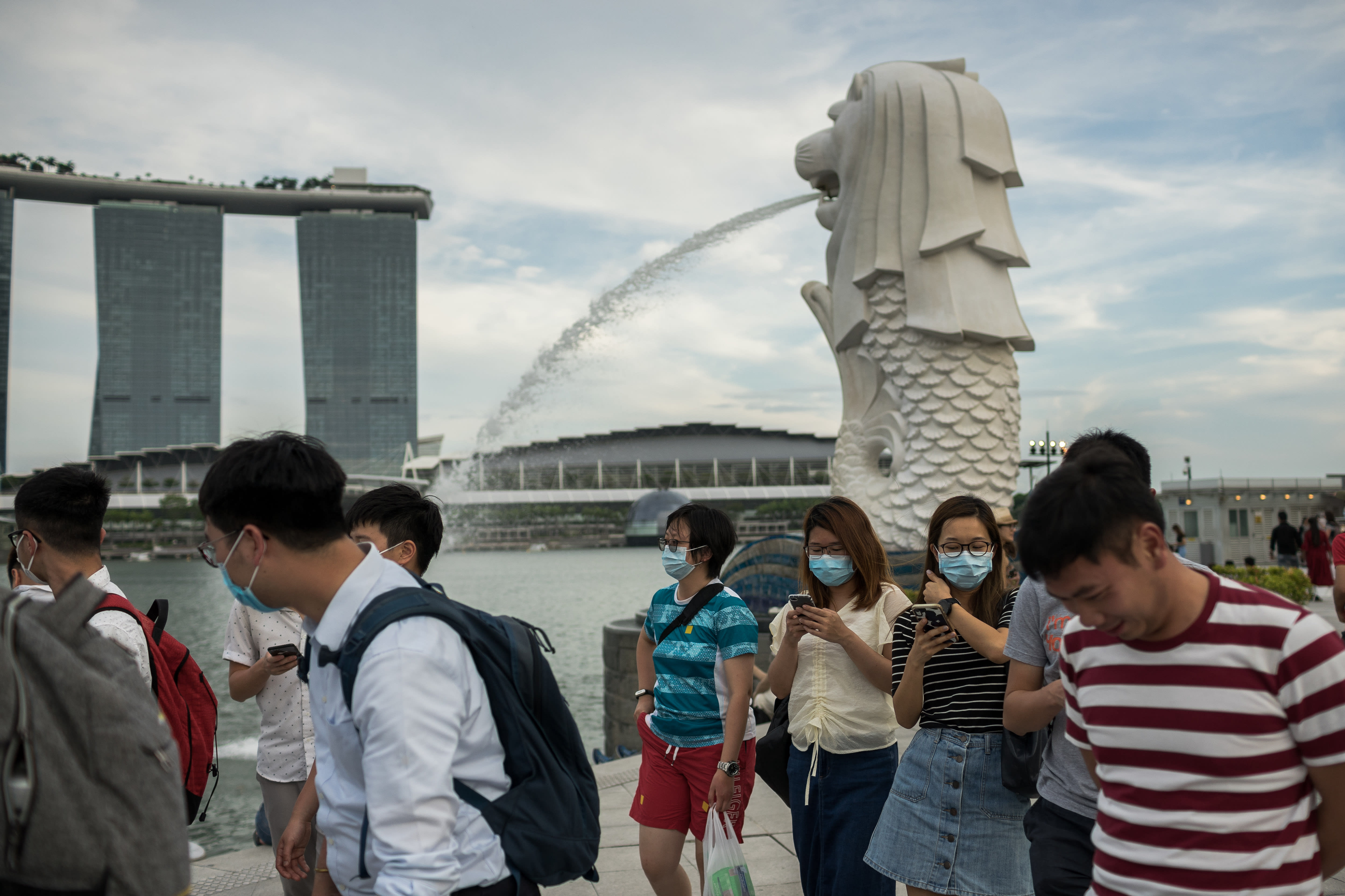 Singapore expects its economy to shrink in 2020 due to the coronavirus pandemic