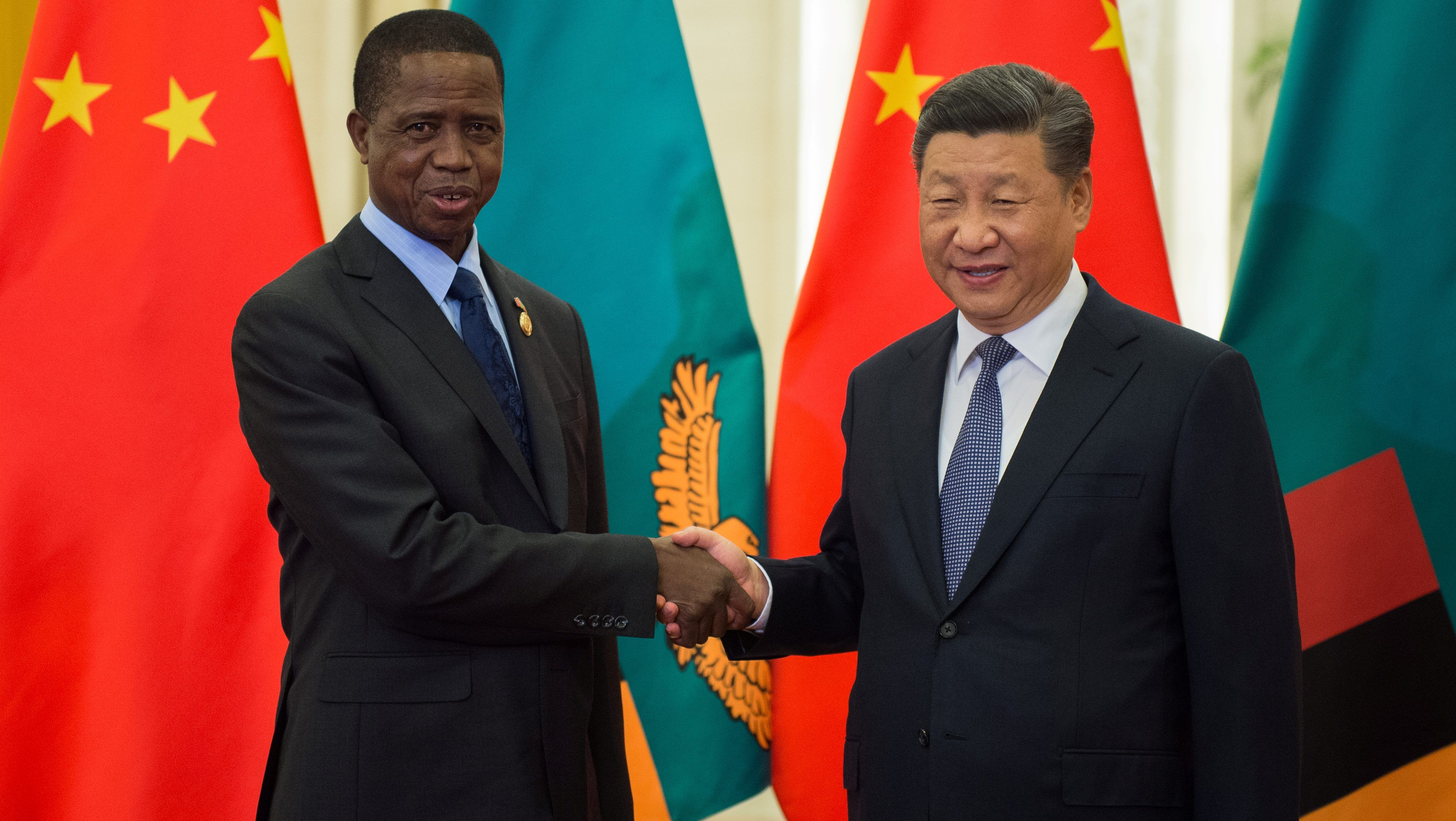 Chinese capital investments in Africa are smaller but more influential than UK or France