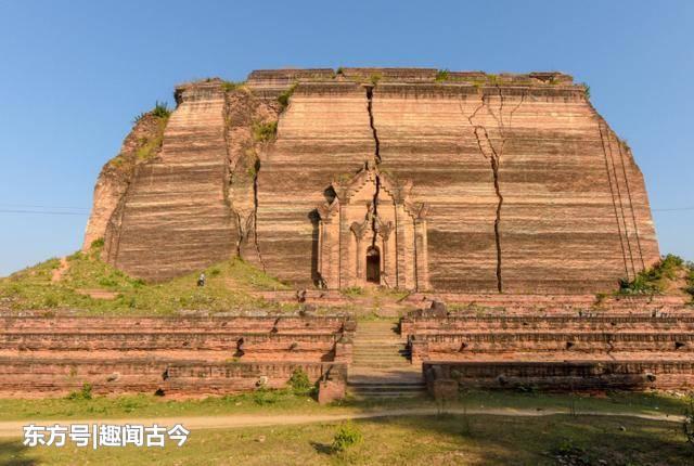 """缅甸有座""""半成品""""古塔,50米高只是一个底座,建造原因是这个"""