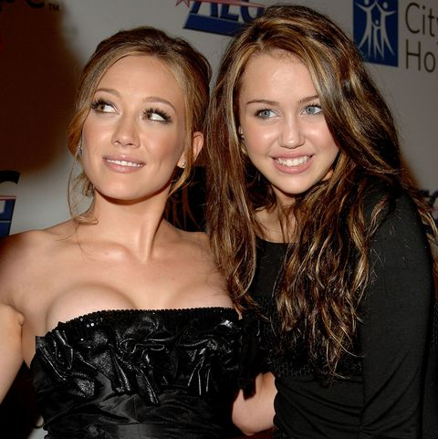 Hilary Duff and Miley Cyrus Had a Real Moment Together