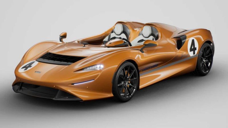 McLaren Elva by MSO pays homage to the company's first orange car