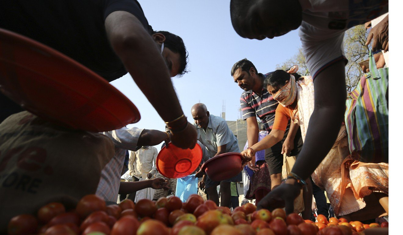 Modi says there's enough food for India during coronavirus lockdown, but supply chains are choked