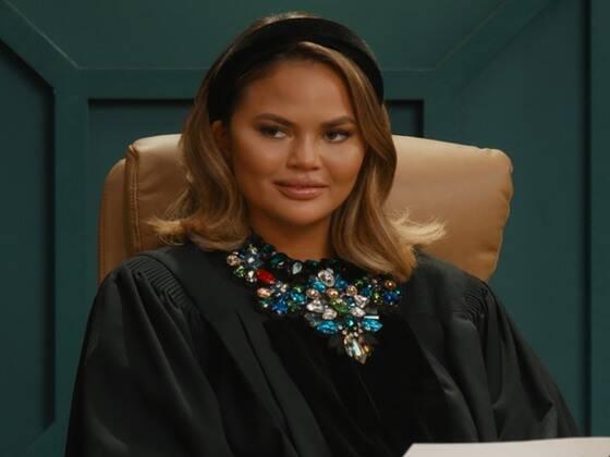 Chrissy Teigen Reveals the Hardest Part of Being a Judge in Chrissy's Court Trailer
