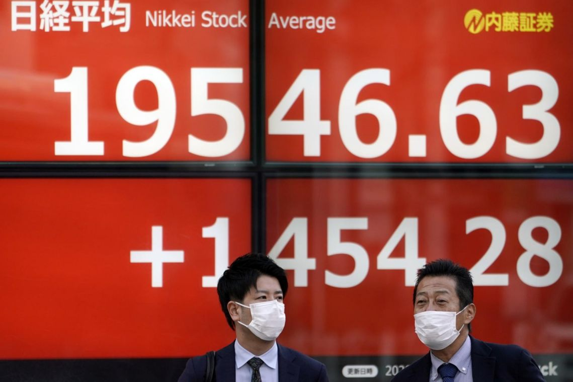 Asia stocks surge after US rally on bets of more stimulus