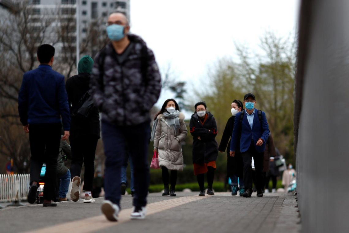 Mainland China reports 55 new coronavirus cases, with first local transmission in 3 days