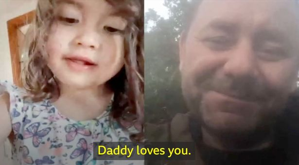 Coronavirus: Self-isolating dad's white lie to young daughter so not to upset her