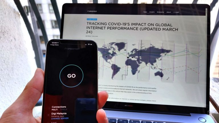As MCO continues, the internet slows down in Malaysia