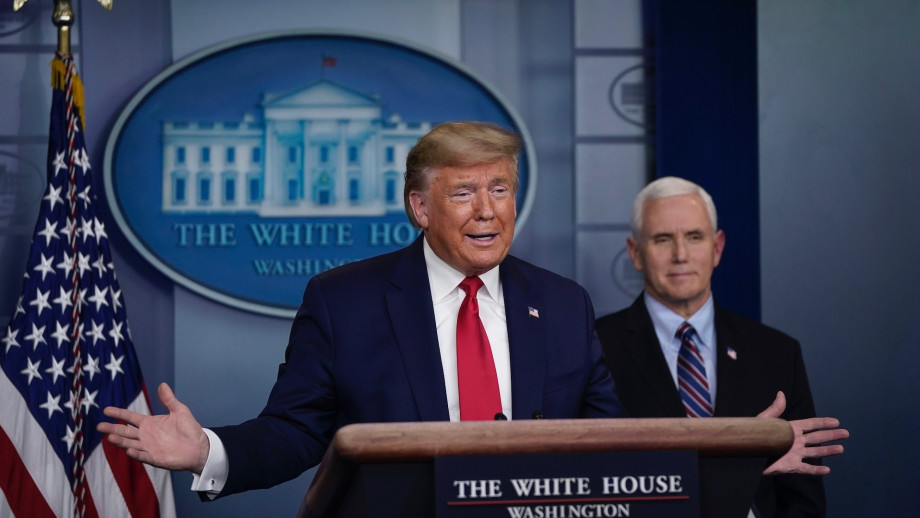 Trump Criticized After U.S. Becomes Country With Most COVID-19 Cases