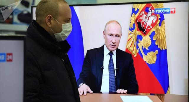 俄罗斯民调:近七成俄公民信任总统普京