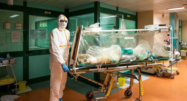 俄军已完成意大利第二家医疗机构的消杀工作