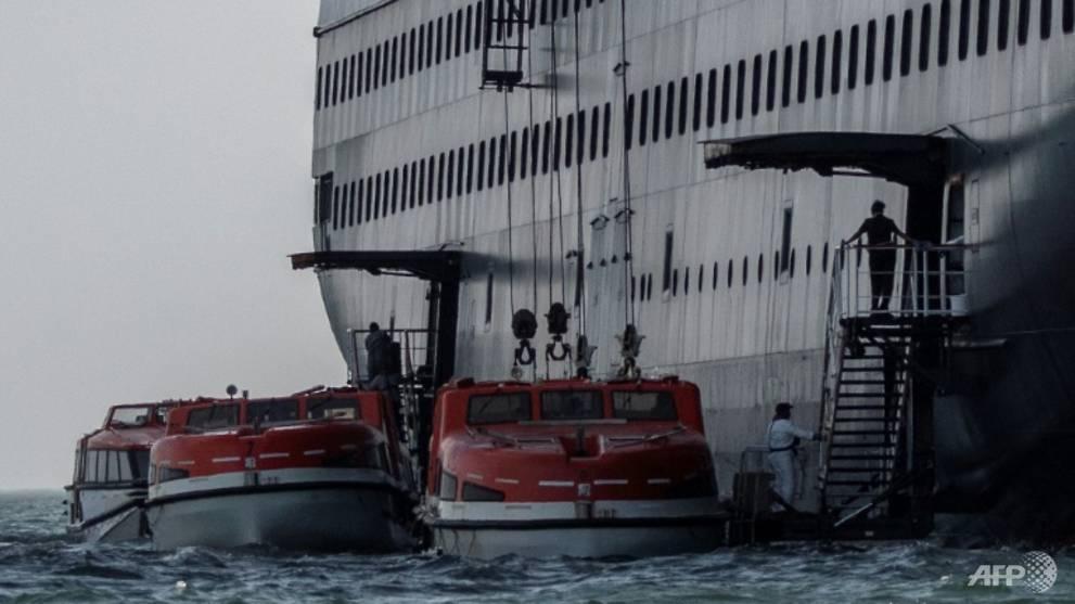 Passengers transferred from virus-stricken Zaandam cruise ship off Panama