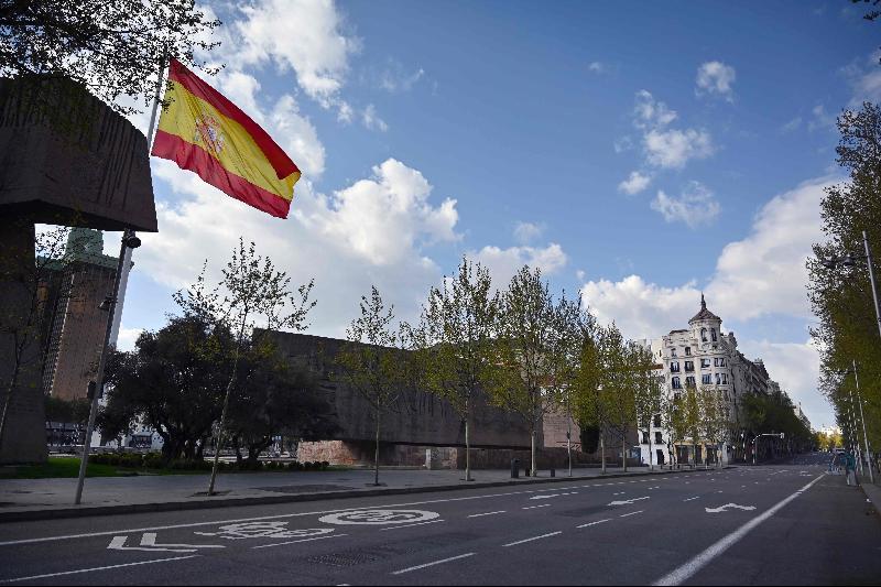 """为遏制冠病疫情‧西班牙将实施更严格""""禁足令"""""""