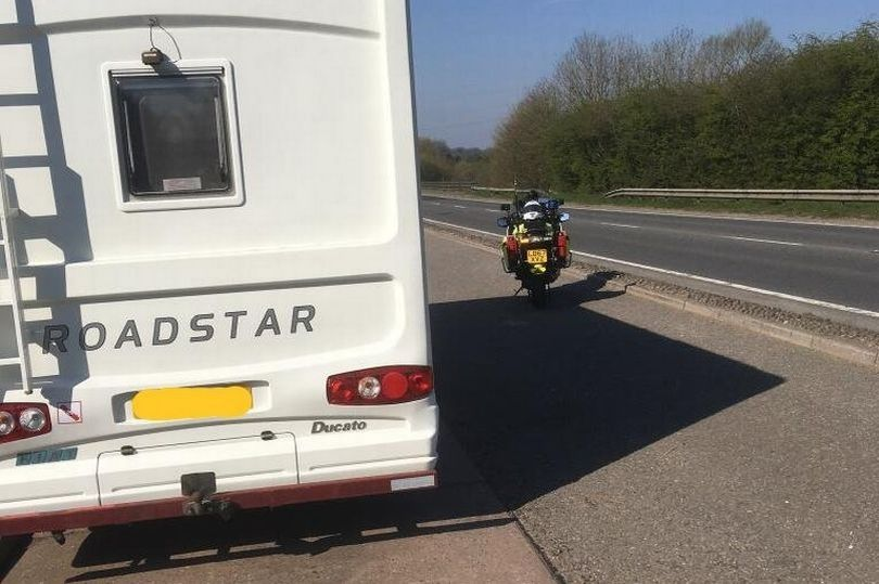 Man with motorhome stopped while driving to Devon during coronavirus lockdown