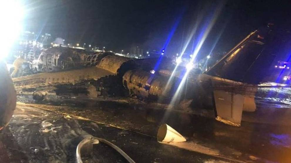 Eight killed after medical evacuation plane crashes in Manila's Ninoy Aquino International Airport