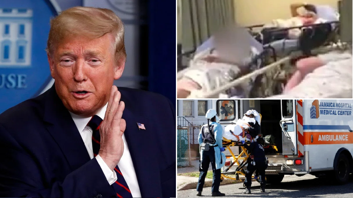 Donald Trump brags about his Bachelor-beating coronavirus TV ratings as 2,400 Americans die of Covid-19