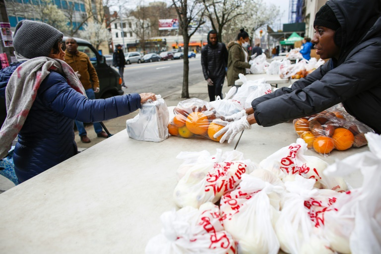 Demand explodes for New York food banks