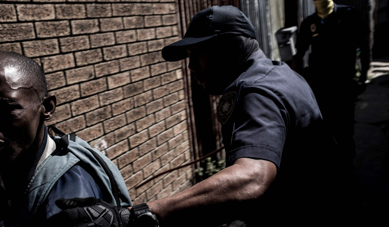 Coronavirus: South African policeman arrested for killing man who broke lockdown rules
