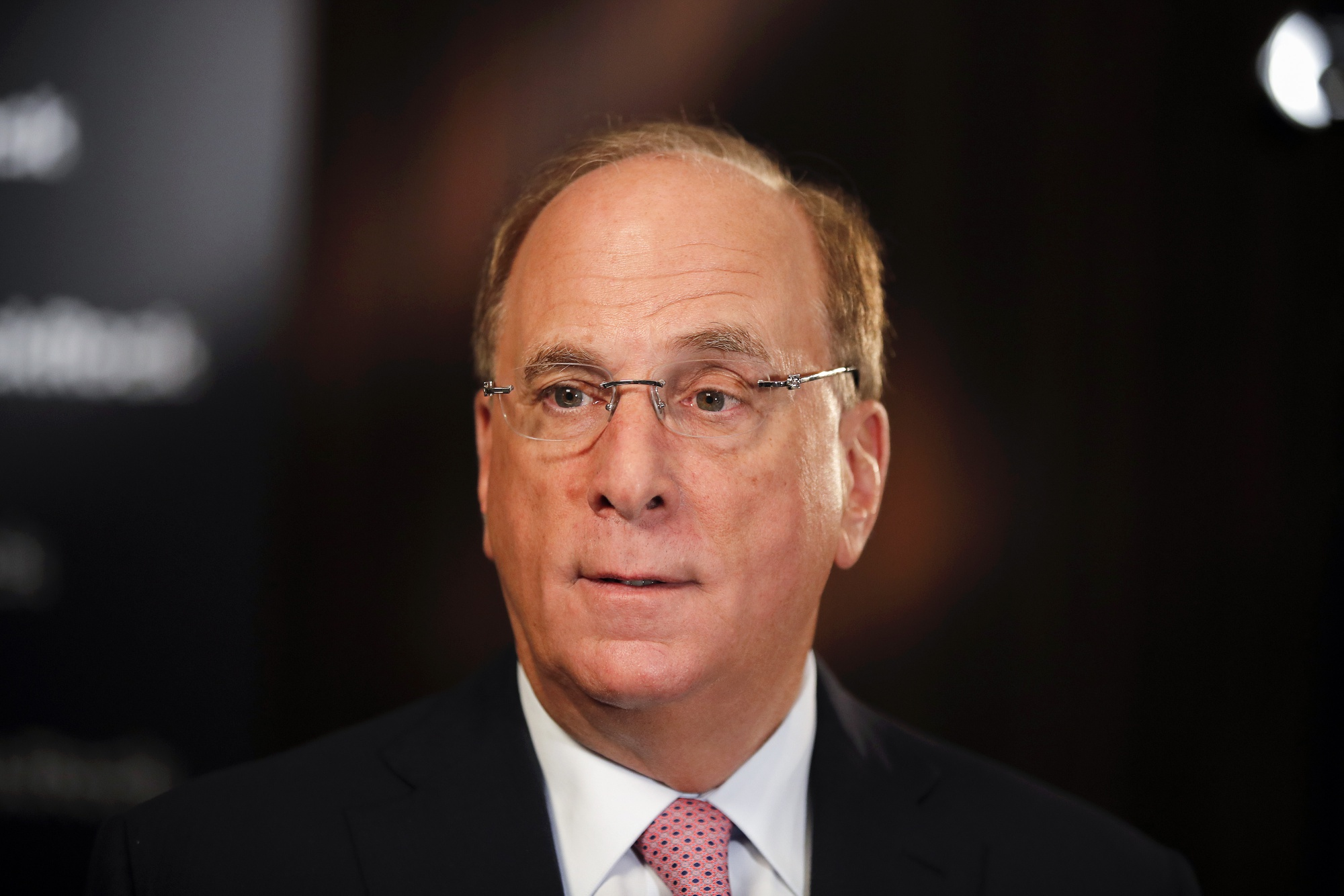 Larry Fink Sees Economy Recovering From Virus But Forever Transformed