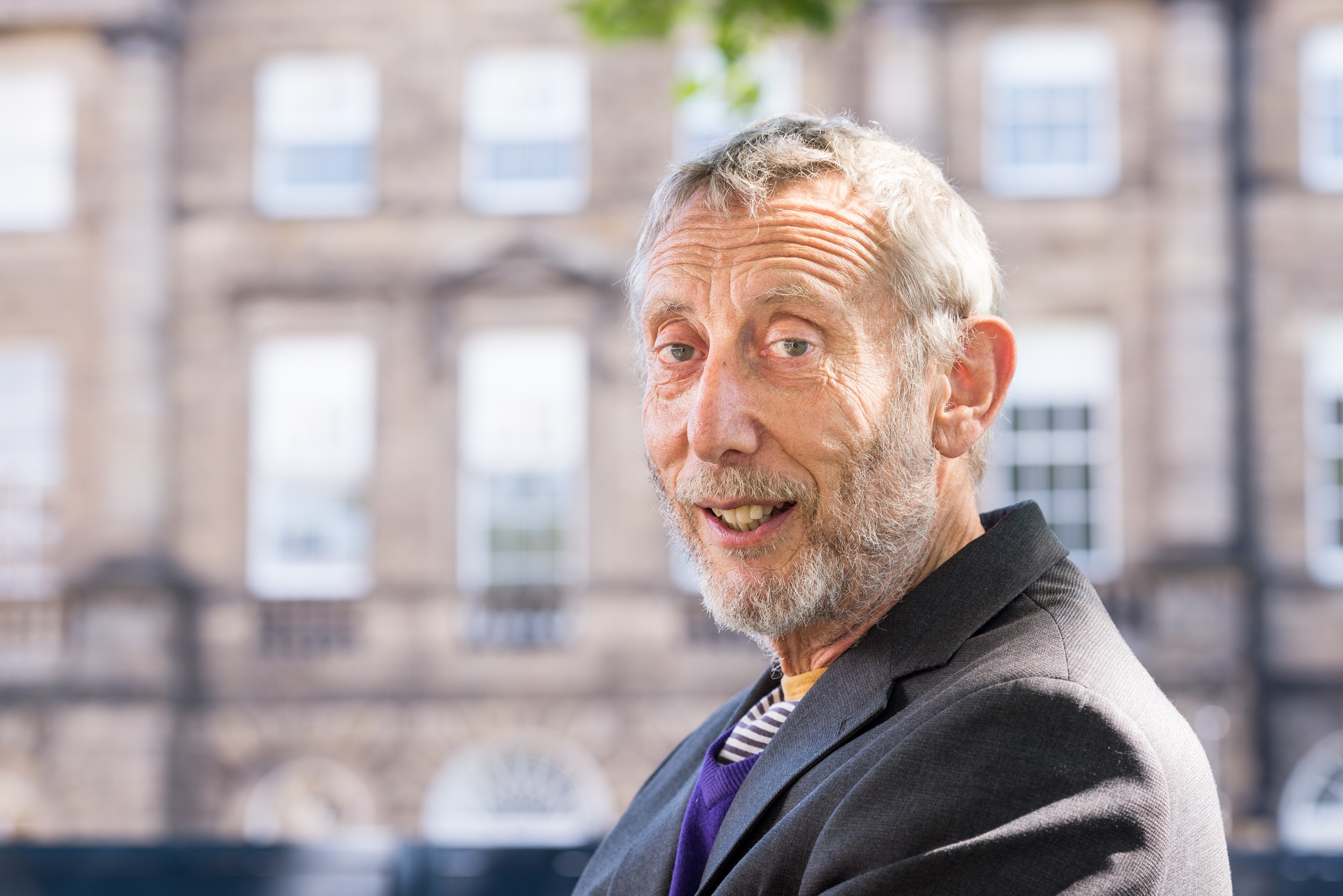 Michael Rosen's wife shares update on author as he 'takes his first steps' in hospital