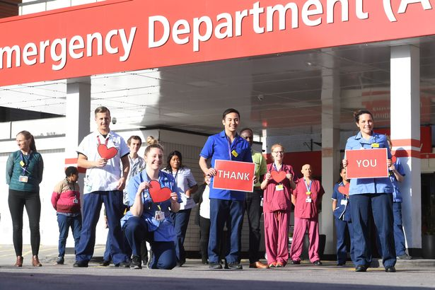 NHS staff on frontline of coronavirus fight demand PPE in letter to government