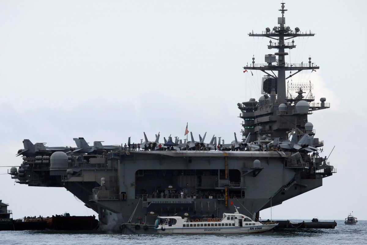 US Navy captain's dramatic plea to evacuate coronavirus-ravaged aircraft carrier Theodore Roosevelt
