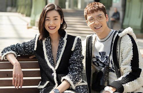 William Chan and Liu Wen's Dating Rumors