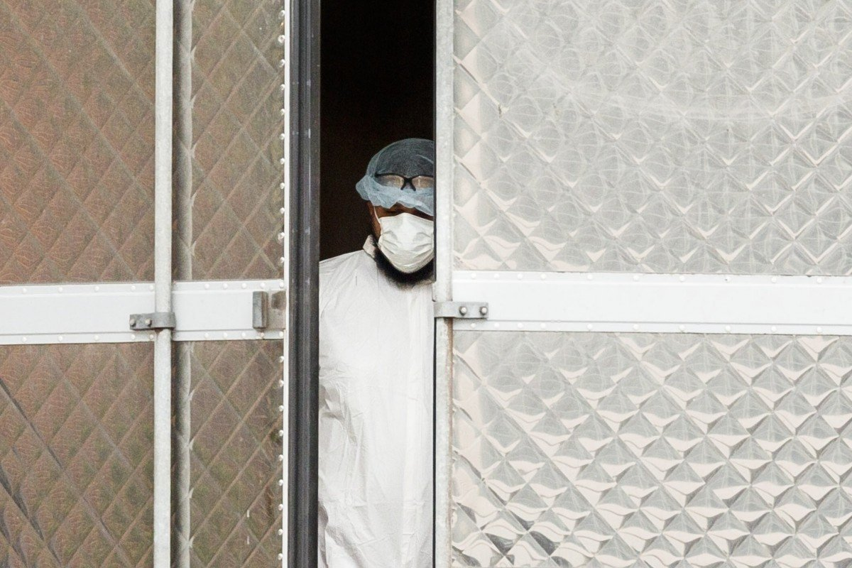 Coronavirus latest: US death toll eclipses China's official count