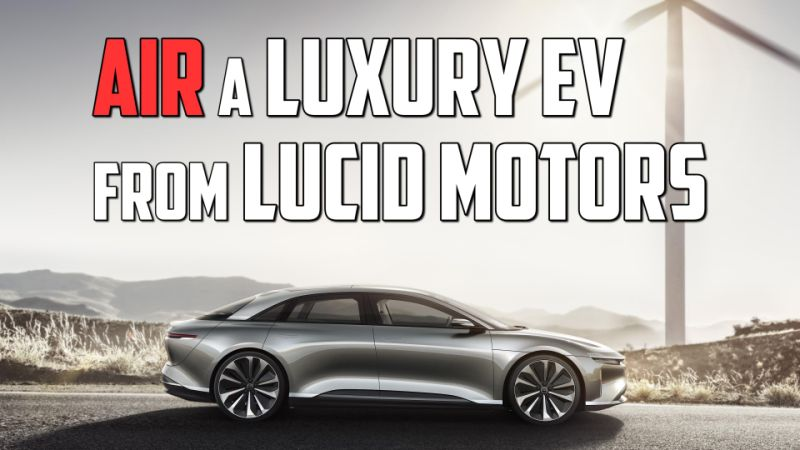 Lucid shows off 40 prototype Air EVs awaiting testing