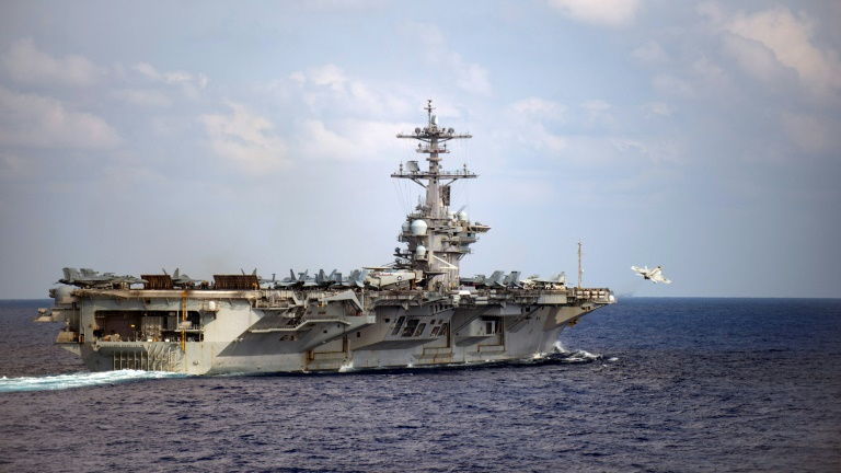 US Navy evacuates virus-struck aircraft carrier Roosevelt