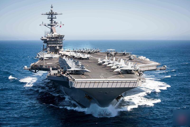 美航空母舰疫情失控‧舰长紧急向国防部求助