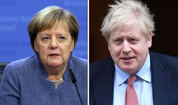 Merkel humiliation: Party ally claims Chancellor 'needs to be more like Boris Johnson!'